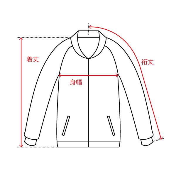 ジャケット/肩縫い目なし